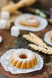 Cukierki tort w formie okrąg zdjęcia royalty free
