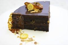 cukierki tort z pomarańczową tła jedzenia cytryną zdjęcia stock