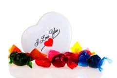 cukierki valentine Zdjęcie Stock