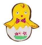 Cukierki zasycha z wzorów prezentami dla wielkanocy na bielu Obrazy Royalty Free