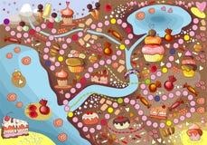Cukierki ziemia Obrazy Royalty Free