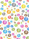 cukierku bezszwowy deseniowy Obrazy Stock
