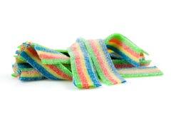 cukierku chew kolorowy podśmietanie zdjęcie stock