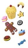 cukierku ciastka słodka bułeczka Fotografia Royalty Free