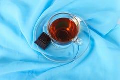 cukierku czekolady herbata Fotografia Stock