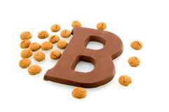 cukierku czekolady listu sinterklaas Zdjęcie Stock
