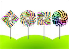 cukierku lolly ilustracja wektor