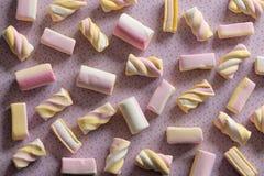 Cukierku marshmallow cukierków wzór obrazy royalty free