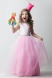 Cukierku princess dziewczyna fotografia royalty free