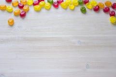 Cukierku ramowy tło Obraz Stock