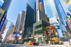 Cukierku sklepu M&M ` s w Nowy Jork blisko times square Zdjęcia Stock