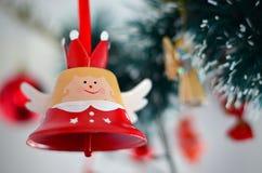 cukierku trzciny bożych narodzeń ornamentu śniegu drzewo Obraz Royalty Free