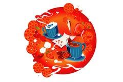 cukierniana grafiki Zdjęcie Royalty Free