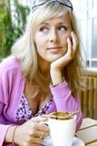 cukierniana kobieta fotografia royalty free