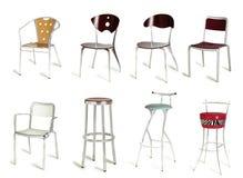 cukierniani krzesła Fotografia Stock