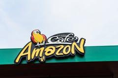 Cukierniany amazonki sklep z kawą Zdjęcie Royalty Free