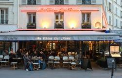 Cukierniany Au Chien ja, lokalizował w Les Halles okręgu Paryż, Francja qui opar 275 rok opowieść zdjęcie royalty free