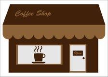 cukierniany kawy przodu sklepu sklep Obrazy Stock