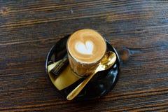 Cukierniany Latte Fotografia Stock