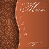 Cukierniany menu Obraz Royalty Free