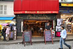 Cukierniany Montmartre, Paryż Fotografia Stock