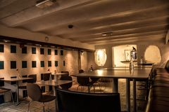 Cukierniany wnętrze w Oslo Zdjęcia Royalty Free