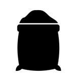 Cukieru worka odosobniona ikona Zdjęcie Stock