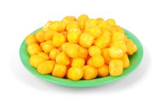 Cukk and plate, floating baits for fish stock photography