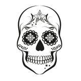 Cukrowa czaszka ilustracja wektor