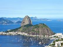 Cukrowego bochenka góra w Rio De Janeiro, Brazylia obraz royalty free