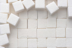 Cukrowi sześciany obraz royalty free