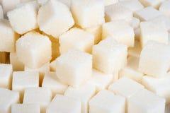 Cukrowi sześciany obrazy stock