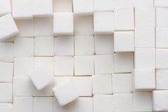 Cukrowi sześciany Fotografia Royalty Free