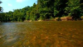 Cukrowy rzeka krajobraz Indiana zdjęcie wideo