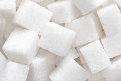 Cukrowy sześcianu tło obraz royalty free