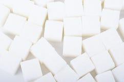 Cukrowy sześcian Zdjęcia Royalty Free