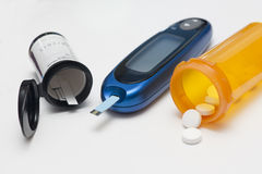 Cukrzycy kontrola Zdjęcie Royalty Free
