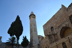 Cul de la historia de la arquitectura de Israel de la religión de Jerusalén Fotos de archivo libres de regalías