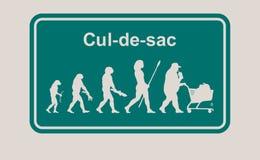 CUL DE SAC Stock Images