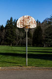 Cul De Sac Hoops. Empty cul de sac basketball hoop Royalty Free Stock Photo