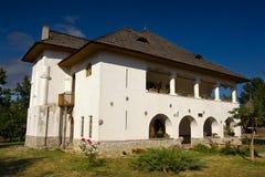 Cula - fortified romanian manor Stock Photo