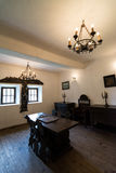 Cula interior, Maldaresti, Romania Royalty Free Stock Image