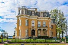 Culbertson herrgård nya Albany Indiana Royaltyfri Foto