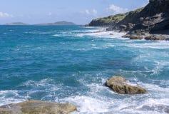 Culebra północny wybrzeże Zdjęcia Stock
