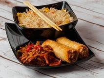 Culinária asiática imagens de stock