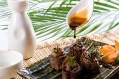 Culinária asiática Fotografia de Stock