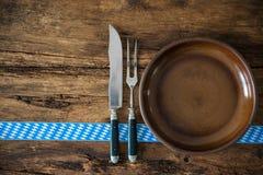 Culinária bávara Fotos de Stock Royalty Free