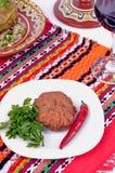 Culinária búlgara tradicional Fotografia de Stock Royalty Free