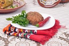 Culinária búlgara tradicional Imagem de Stock