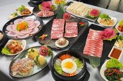 Culinária coreana Foto de Stock Royalty Free
